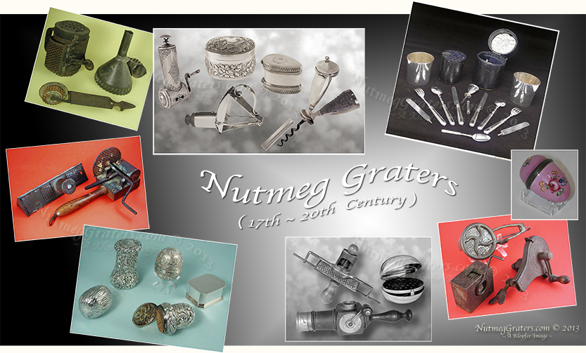 Types of nutmeg graters
